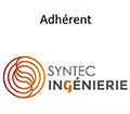 Adhérent SYNTEC-INGENIERIE